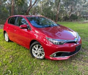 2017 Toyota Corolla ZRE182R Ascent Sport S-CVT Red 7 Speed Constant Variable Hatchback Reynella Morphett Vale Area Preview