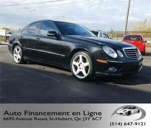 Mercedes-Benz E350 2009 **4 MATIC / 83 000KM / OPTION AMG**