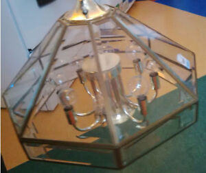 Brass ceiling fixture only $8