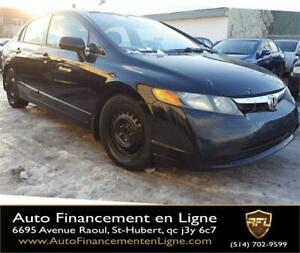 2006 Honda Berline Civic LX ** FINANCEMENT DISPONIBLE **