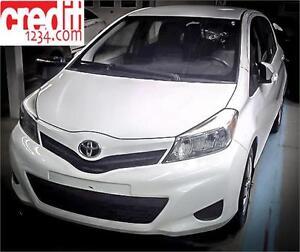 2012 Toyota Yaris LE, À PARTIR DE 47$ SEMAINE 100% APPROUVÉ !