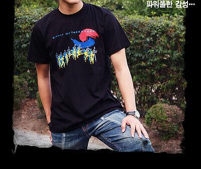 T-Shirt Noir Art Martial Yin Yang Corée Sport National SPIRIT OF TAEKWONDO