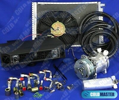 A/C-KIT UNIVERSAL UNDERDASH EVAPORATOR 404V HEAT & COOL W/ ELECTRICAL HARNESS