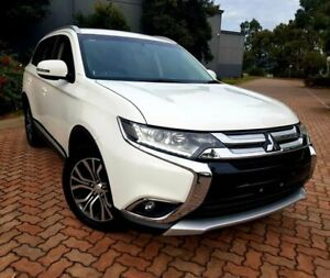 2016 Mitsubishi Outlander ZK MY17 LS 2WD White 6 Speed Constant Variable Wagon Dingley Village Kingston Area Preview