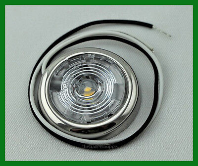 Interior Dome Light White Surface Mount 1.50