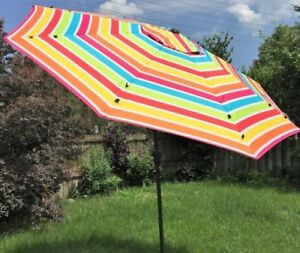 New Umbrella with Cover 9ft Strong 8 Ribs Premium Quality