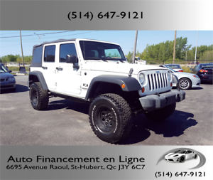 Jeep Wrangler Unlimited 2007 **112 000KM / AUTOMATIQUE/8 MAGS /