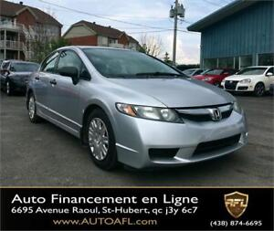 2009 Honda Berline Civic DX **G.ÉLECTRIQUE**