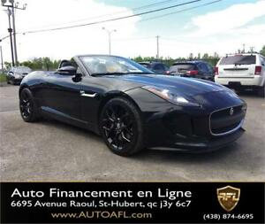 2014 Jaguar F-Type Convertible **CUIR/MAGS/GPS/SUPERCHARGED**