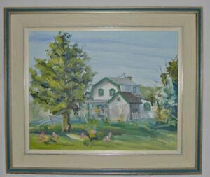 Peinture - Peintre québécois
