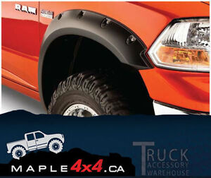 2009-2014 Ford F-150 4pcs Pocket-Riveted Textured Fender Flares Downtown-West End Greater Vancouver Area image 3