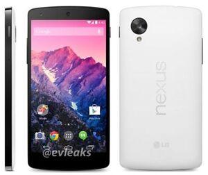 NEW LG Nexus 5 D820 - 16GB - Special WHITE (Unlocked) Smartphone