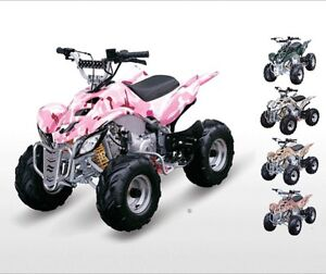 YOUTH ATVs -  110 CC TO 250 CC WITH WARRANTY AND FEATURES!