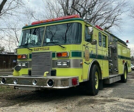 Pierce Lance Rescue Pumper Fire truck Recently Refurbished Low Miles