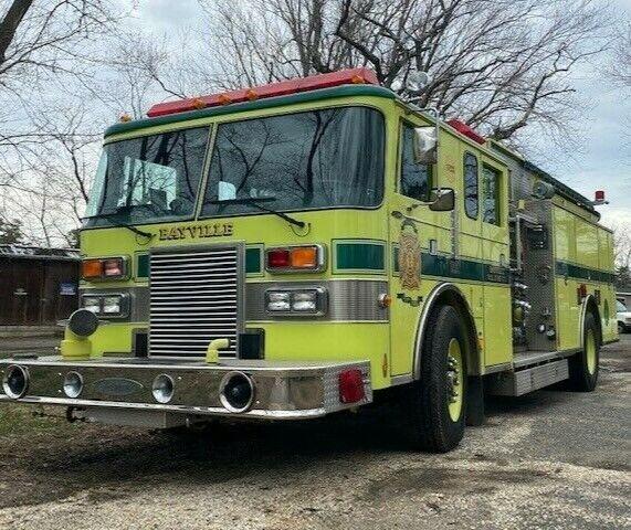 Pierce Lance Rescue Pumper Fire truck  Low Miles