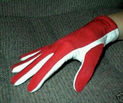 FREE SHIP! Scuba Diving Snorkeling Gloves Light weight Warm Water Red/White Gear Scuba Diving Glove Gear