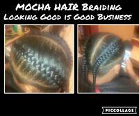 Mocha Makerover SCARBOROUGH 30$-$60 Neat Braids 289 339 9927