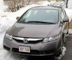 2009 Honda Civic EX-L LEATHER HEATED SEATS, SUNROOF