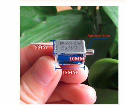 1pcs Mini Small Miniature Solenoid Valve Flow Exhaust Valve Electronic