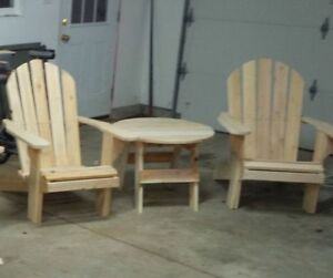 New Adirondack Chair Sets - Taking Orders for Easter Delivery