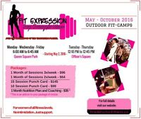 OUTDOOR FIT-CAMPS STARTING MAY 2ND - RESERVE YOUR SPOT!