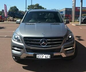 2012 Mercedes-Benz ML350 W166 BlueEFFICIENCY 7G-Tronic + Silver 7 Speed Sports Automatic Wagon Gosnells Gosnells Area Preview