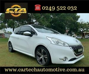2014 Peugeot 208 GTi White 6 Speed Manual Hatchback Lambton Newcastle Area Preview