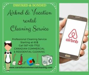 Air BnB & Vacation Rental Cleaning** Licensed, Insured & Bonded