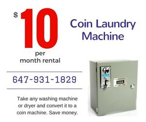 Do you own a rental property?  Convert your washing machine