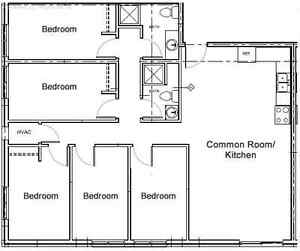 Attn Students: 61 Columbia All Inclusive Apartments with TV! Kitchener / Waterloo Kitchener Area image 2