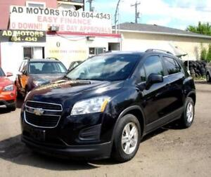 """NO ACCIDENT/LEASE BACK""   2013 CHEVROLET TRAX 1LT AUTO LOADED.."