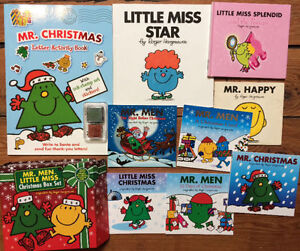 MR MEN and LITTLE MISS books all 9 for $20