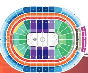 2 Oilers Tickets Lower Bowl Row 6 Penguins Canucks Red Wings