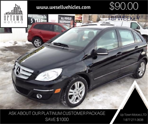 2009 Mercedes-Benz B-Class - $90 Bi-Weekly - In House Financing