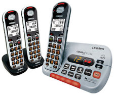 UNIDEN SSE35+2 VISUAL & HEARING IMPAIRED CORDLESS PHONE SYSTEM  3 HANDSETS TOTAL