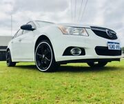 2013 Holden Cruze JH MY14 Equipe White 6 Speed Automatic Sedan Maddington Gosnells Area Preview