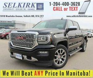 2016 GMC Sierra 1500 Denali *6.2L CHROME STEPS NAV*