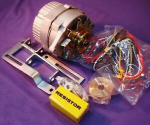 Ford 8N Tractor Alternator Generator Conversion Kit One Wire 63 Amp