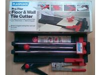 Plasplug Pro-Tiler Floor and Wall Tile Cutter and accessories