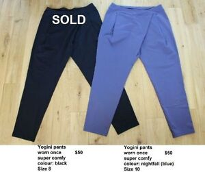 various sizes of Lululemon capris/pants - sizes 8 to 12 Kitchener / Waterloo Kitchener Area image 4