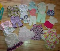Baby Girl Outfits - newborn to 3 months