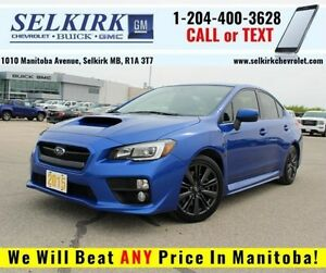 2015 Subaru WRX w/Sport Pkg *INCL WINTER TIRES/WHEELS*