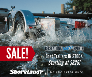 SHORELAND'R 10-16FT BOAT TRAILERS ** ON SALE THIS WEEK ONLY! **