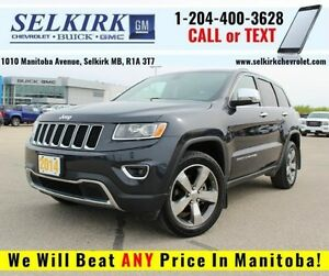 2014 Jeep Grand Cherokee Limited *LOW LOW KMS*
