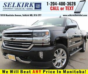2016 Chevrolet Silverado 1500 High Country *LOADED W/LOW KMS*