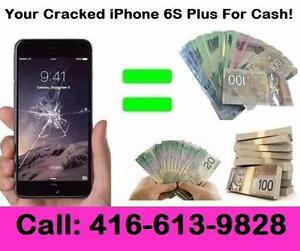 Buying all USED / CRACKED iPhone 6S Plus For Cash!!! We Come to you! Save your GAS!