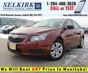 2013 Chevrolet Cruze LS *PRICED TO MOVE*