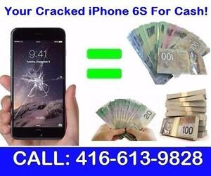 TOP CASH For Your Cracked / MINT iPhone 6 ! - SAME DAY PICK UP! - We Come Directly To You!!!