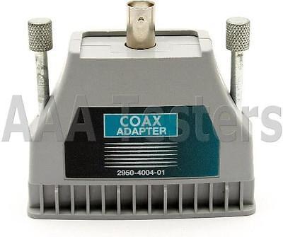 Fluke Microtest Omniscanner Coax Adapter 2950-4004-01 For Omniscanner 1 2
