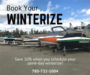 Book Your Boat Winterize!